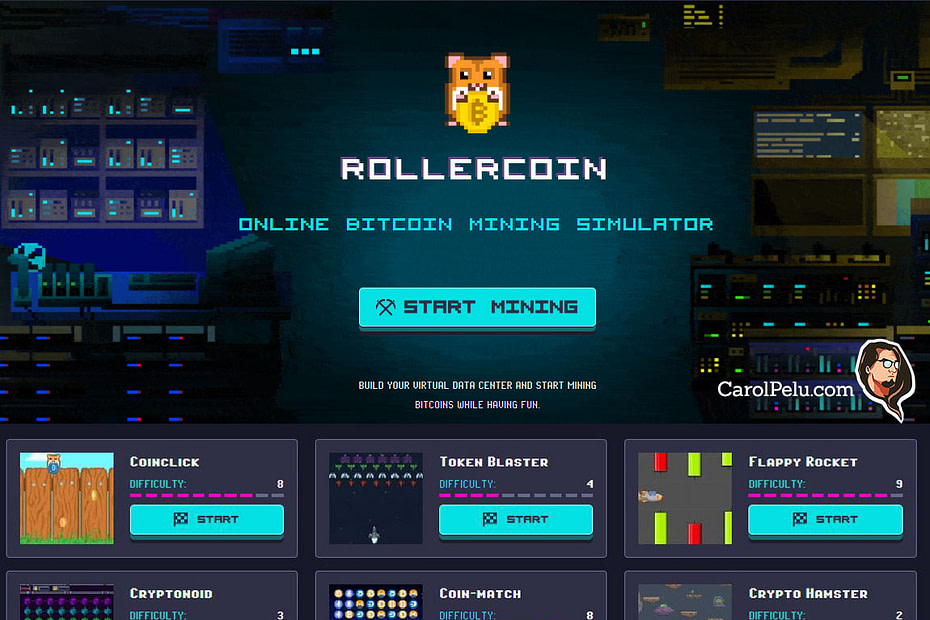 RollerCoin Earn Passive Income Online Crypto